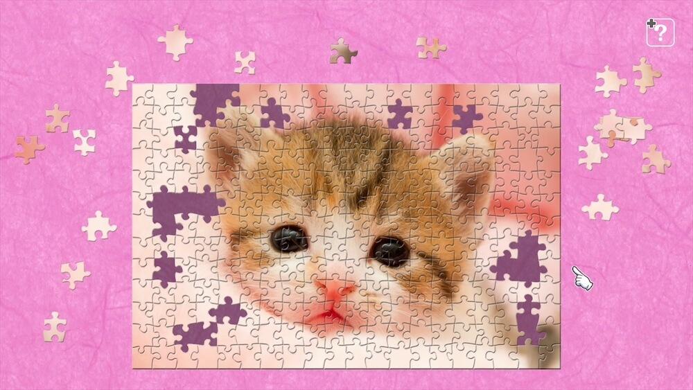 あどけない表情の子猫のジグソーパズル by ジグソーマスターピース
