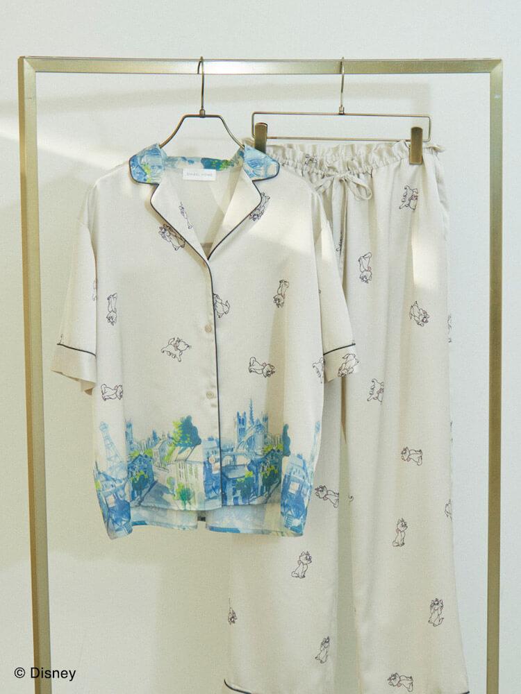 おしゃれキャットマリーの上下パジャマ(オフホワイトカラー) by SNIDEL HOME