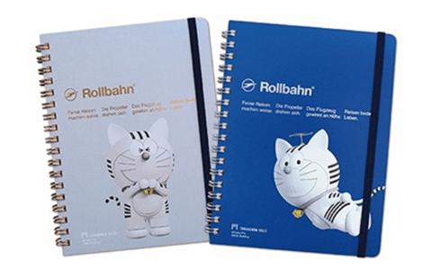 猫キャラ「トラのもん」のメモ帳