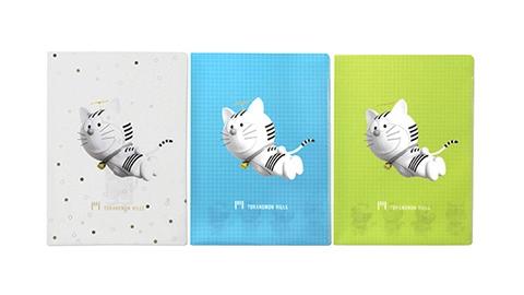 猫キャラ「トラのもん」のクリアファイル