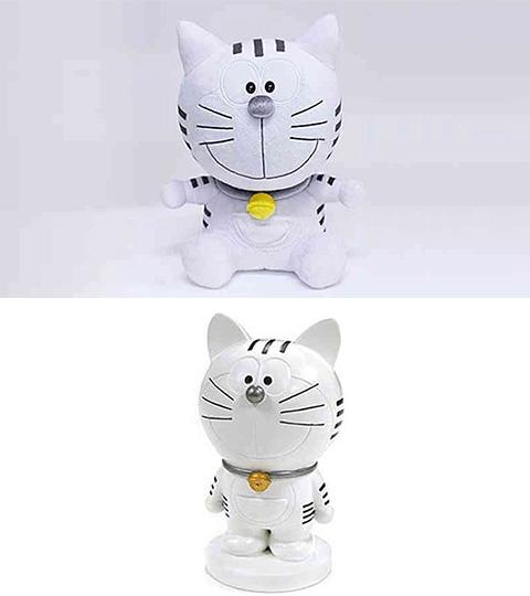 猫キャラ「トラのもん」のぬいぐるみ&レジンフィギュア