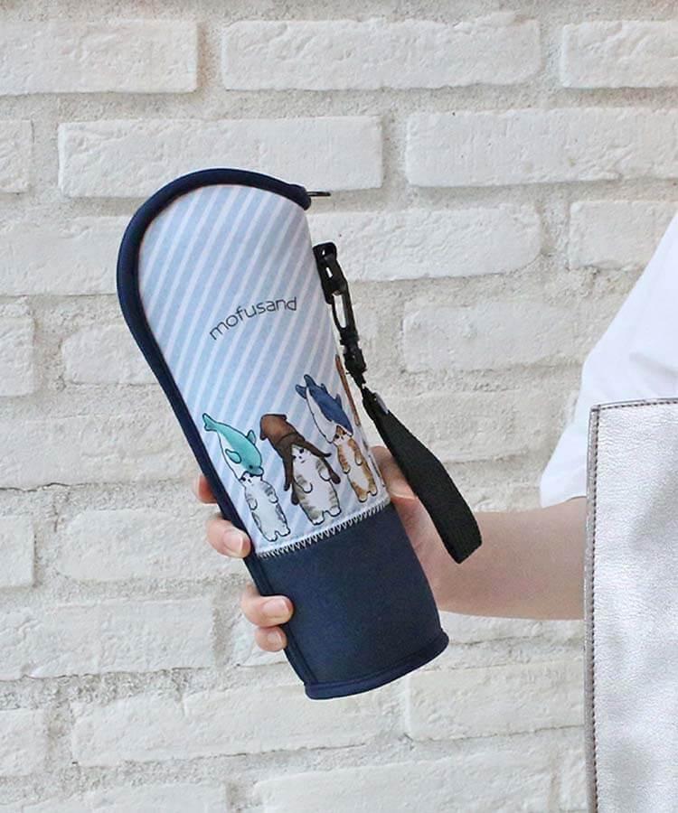 ぢゅの雑貨「もふさんど」のソフトボトルケース by ブルーブルーエ