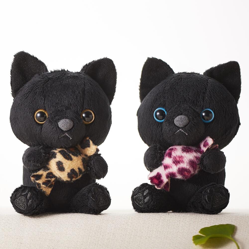 ホテル日航大阪の黒猫マスコットキャラクター商品拡大イメージ