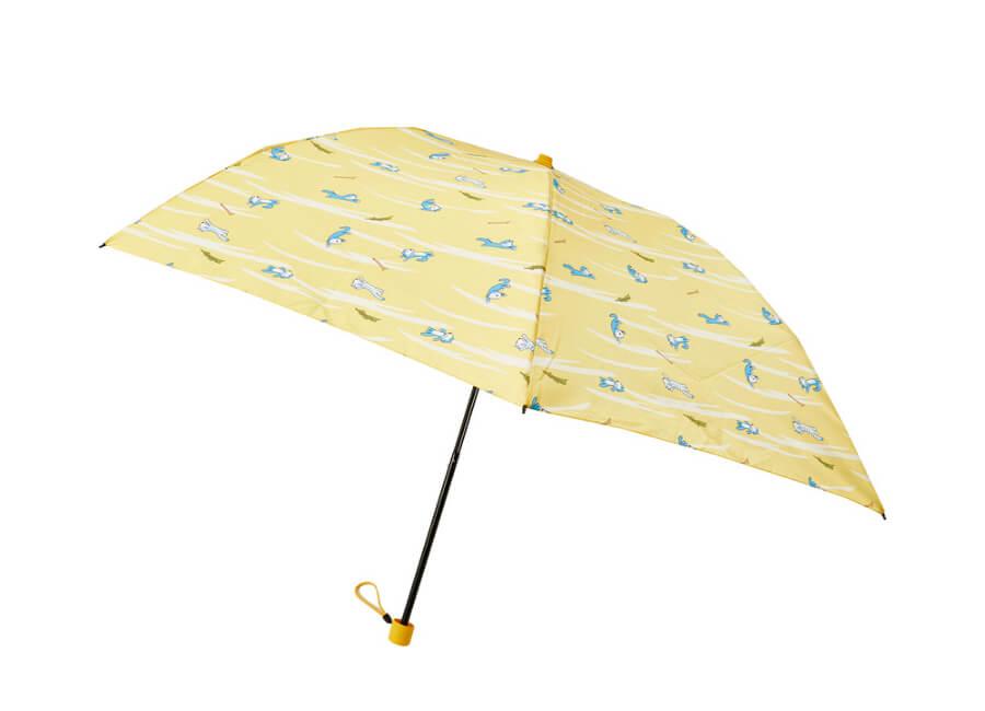 「11ぴきのねこ」の折り畳み傘(雨傘)開いた状態