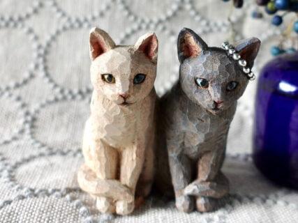 木彫りの動物たちと会える『LIFE はしもとみお彫刻展』渋谷パルコで開催、作品の抽選販売も
