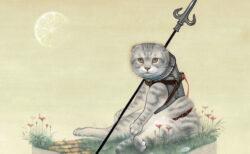 お気に入りの猫アート作品と出会えるかも?9名のアーティストが参加する「猫会議2021」