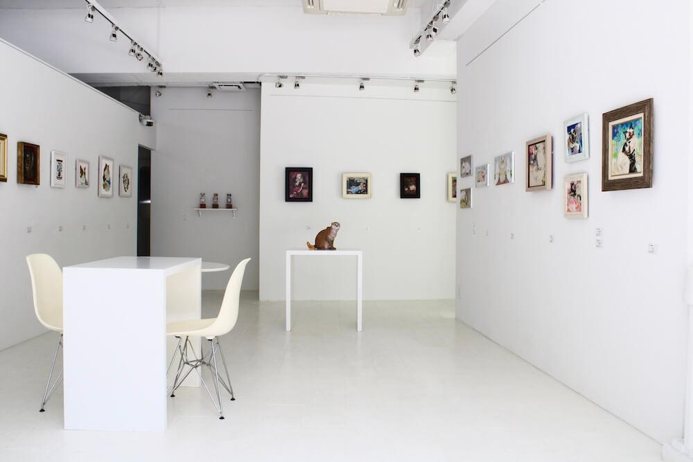 東京・大伝馬町にあるギャラリー「REIJINSHA GALLERY」内部イメージ