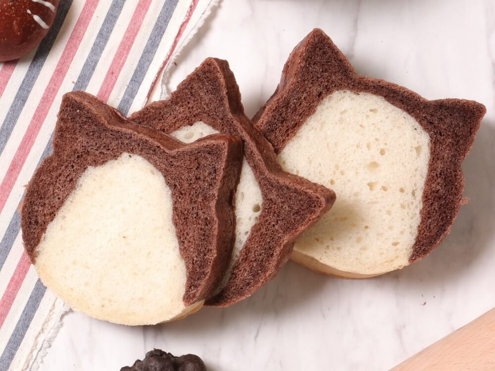 ねこ型食パン by ル ビアン