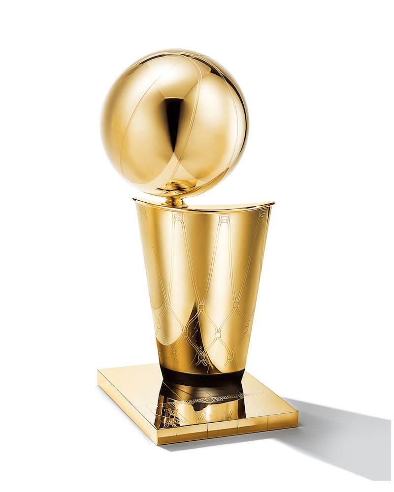 NBAファイナルの優勝チームに贈られる「ラリー・オブライエン・チャンピオンシップ ・トロフィー」 by ティファニー