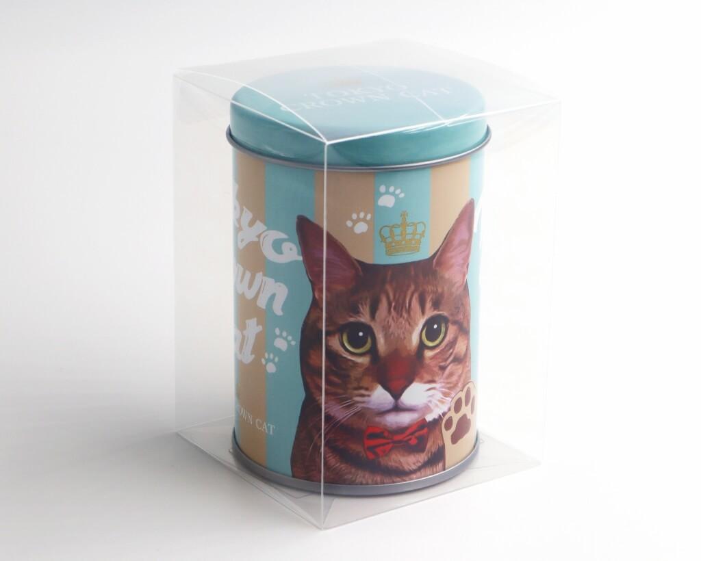 クリアケースに入った「にくきゅうグミ」 by TOKYO CROWN CAT
