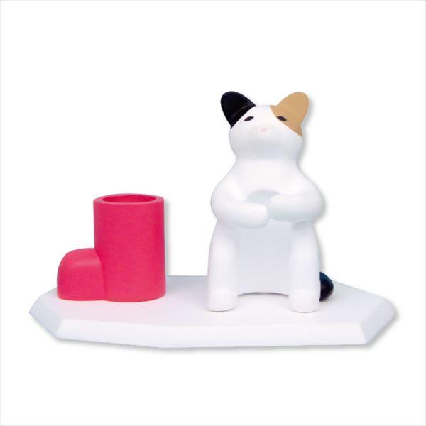 歯ブラシホルダー(釣り猫)の製品イメージ