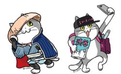 地域限定の「渋谷猫」も!仕事猫の作者くまみね氏のグッズフェアが東急ハンズ渋谷店で開催中