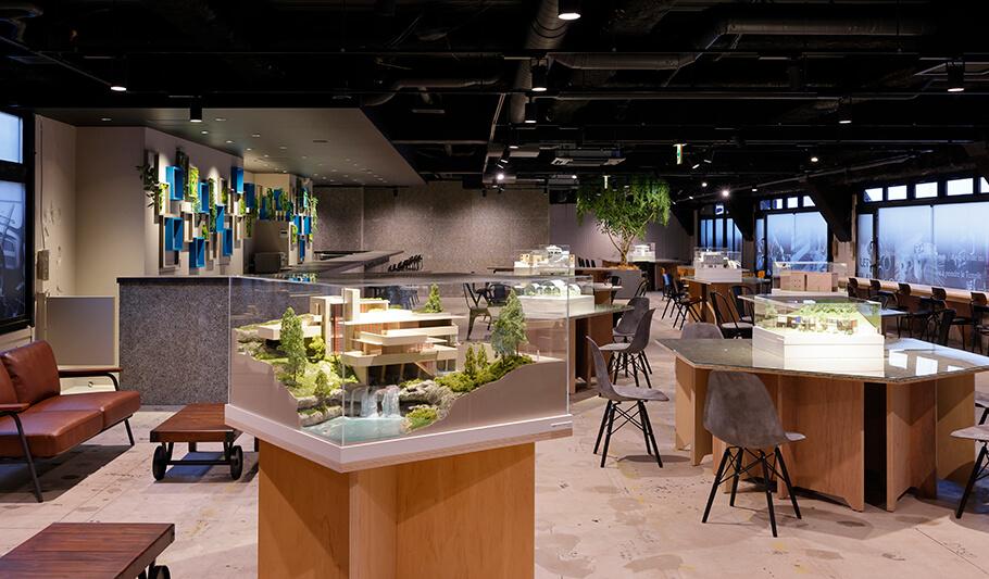 建築好きのためのミュージアム型カフェ「アーキテクチャカフェ棲家(すみか)」店内イメージ