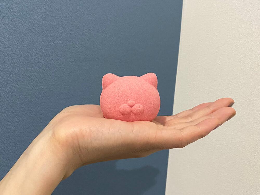 猫にモテるかもしれない入浴剤「NEKOMOTE Bath ball(ネコモテ バスボール)」製品イメージ
