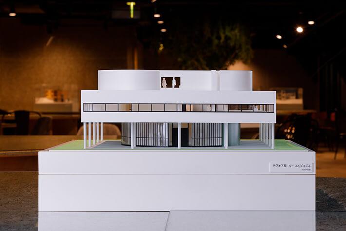 ル・コルビジェが設計した「サヴォア邸」の建築模型 by 林洋平