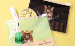 かわいい猫ポーチや巾着袋付き!ねこスイーツブランドからフィナンシェなどの新商品が登場