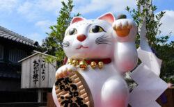 招き猫の祭典「来る福招き猫まつり」プレイベントが東京・日本橋で開催!現代作家の作品も展示