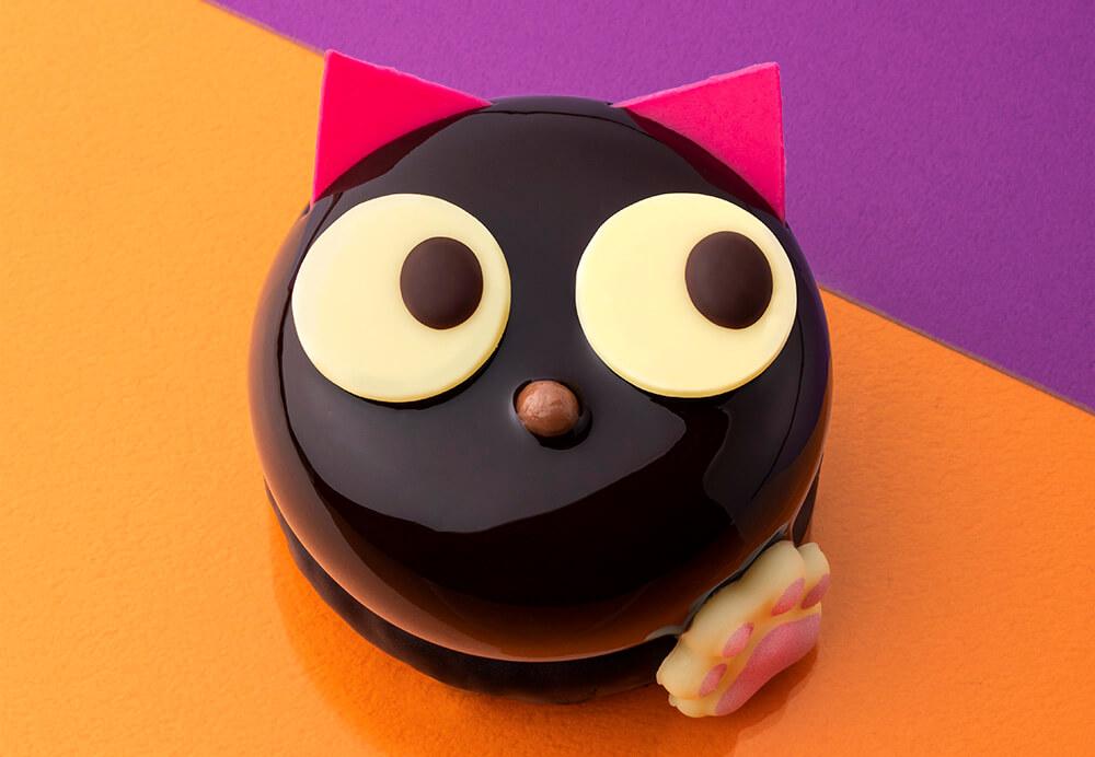 BUTTER STATE's(バターステイツ)のハロウィン商品『黒猫ショコラ』実物イメージ