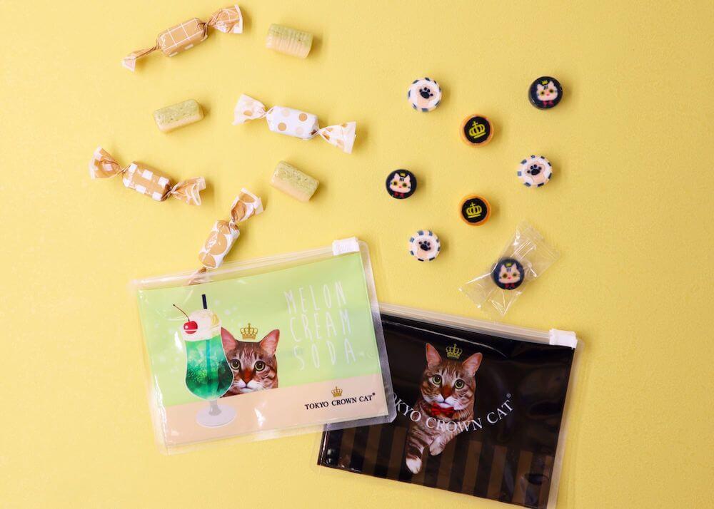 『くみあめ&メロンクリームソーダキャラメルセット』 by TOKYO CROWN CAT