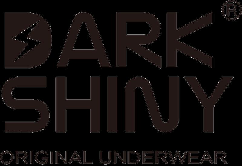 国内ボクサーパンツブランド「Dark Shiny(ダークシャイニー)」のロゴイメージ