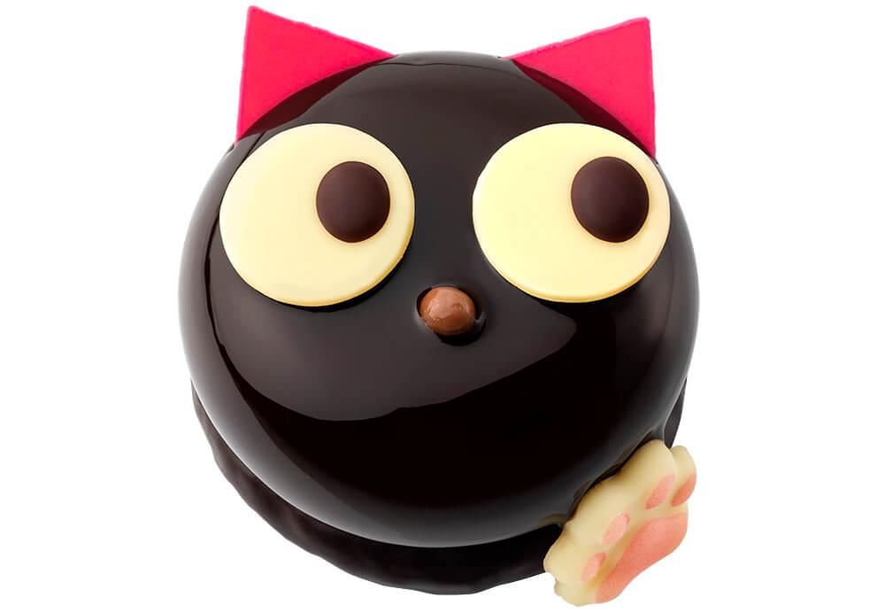 黒猫をモチーフにしたショコラムースのケーキ by BUTTER STATE's(バターステイツ)