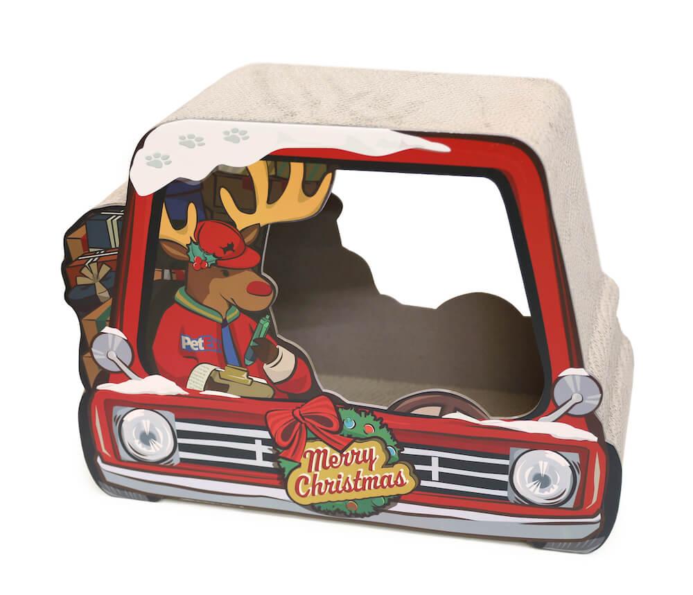 爪とぎクリスマスの商品イメージ表面 by オーサムストア&オーサムペッツ