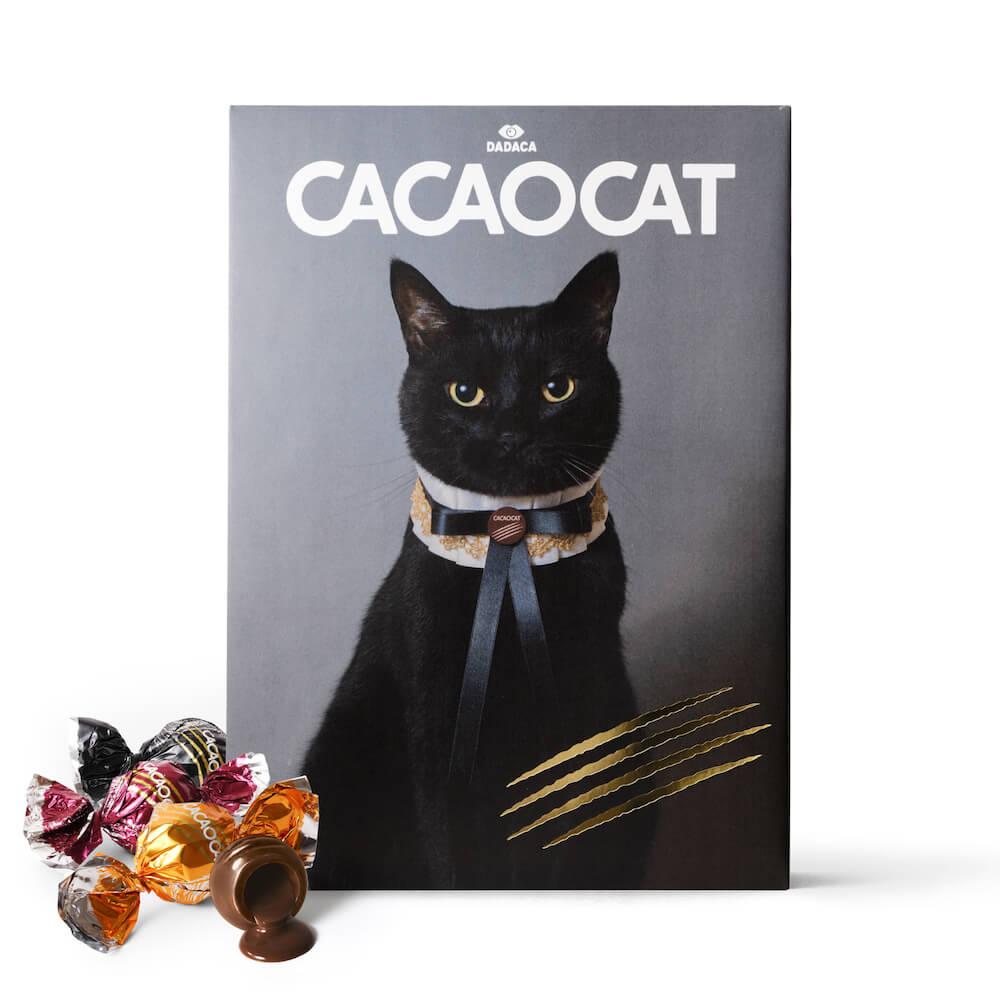 木野聡子がデザインしたCACAOCAT(カカオキャット)の商品パッケージ