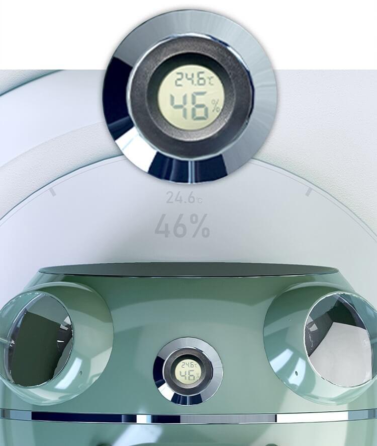 温度と湿度を計測できるペット用キャリーケース「カプセルペット」